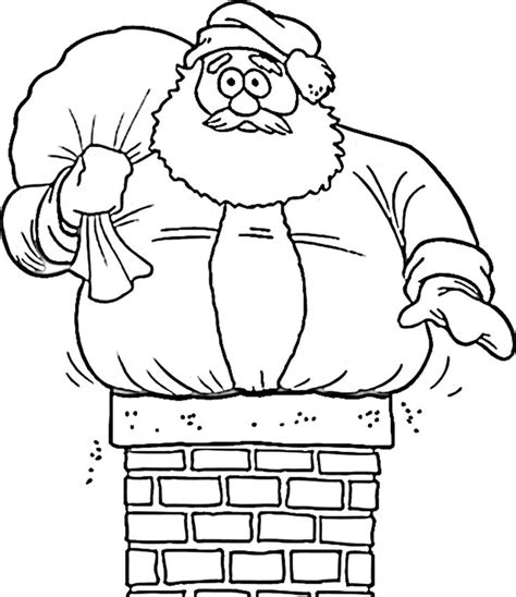 cute santa coloring pages 1000 images about coloring pages on pinterest coloring
