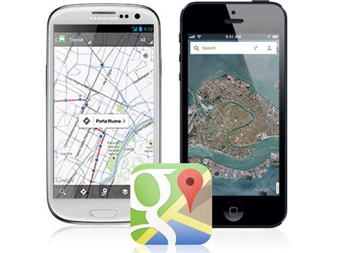 google maps mobile full version google maps for iphone is better than android version and