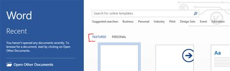 adding templates to word adding a custom quot template quot in word 2013 stack overflow