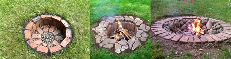 easy pits 100 easy backyard pit designs gas
