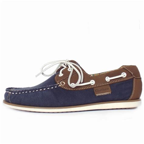 chatham marine mastway s canvas boat shoes in navy