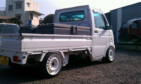 kei truck suzuki carry lowered jdm suzuki pinterest trucks
