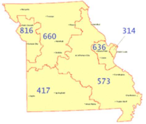 Area Code 314 Lookup Area Code 636