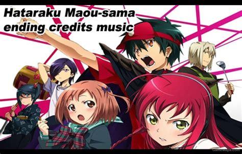 ending anime hataraku maou sama hataraku maou sama ending credits left 4 dead 2