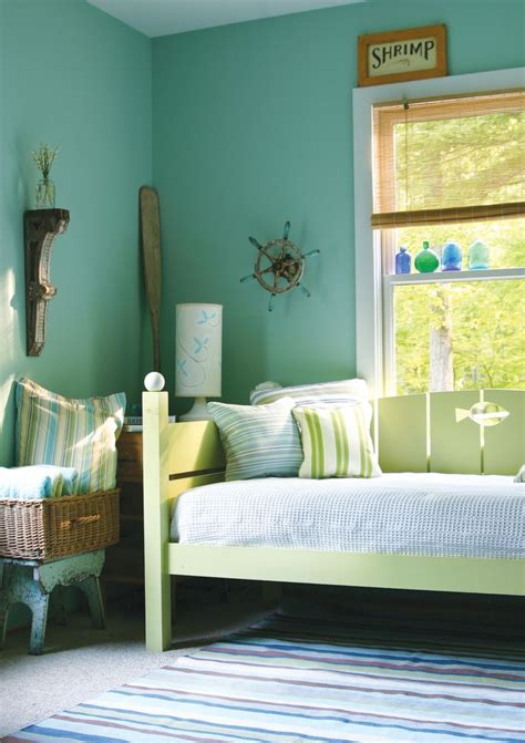 bedroom gorgeous green blue bedroom decoration using