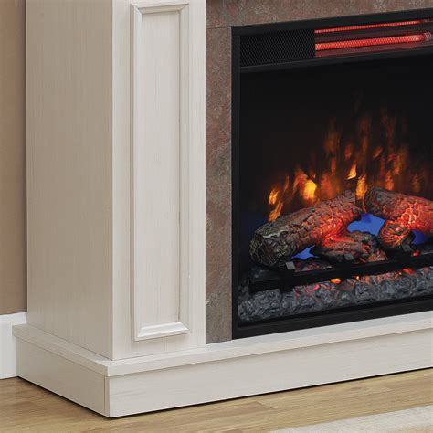 newcastle antique white fireplace classicflame united