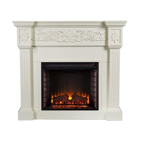 electric fireplace ivory martin huntington electric fireplace in ivory fe9279