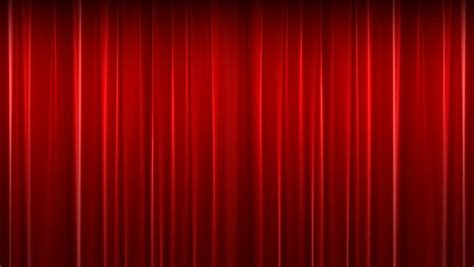 red theater curtain red velvet theater curtain with alpha chanell stock
