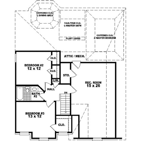 house plan 1761 square feet 57 ft european style house plan 3 beds 2 5 baths 1761 sq ft