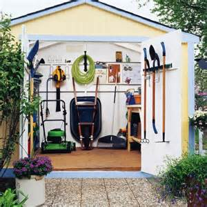 Organization Ideas For Kitchen 33 practical garden shed storage ideas digsdigs