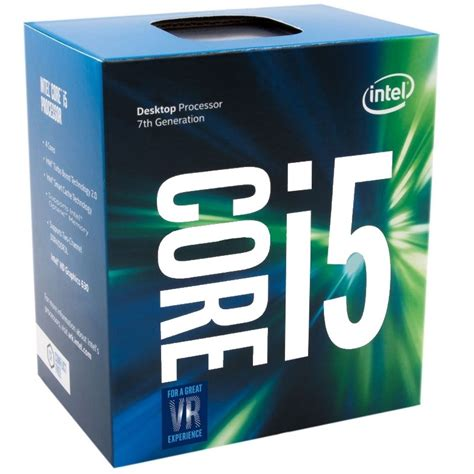 Intel I5 7600k 38ghz Cache 6mb Socket Lga 1151 Kabylake intel i5 7600k 3 80ghz kaby lake socke ocuk