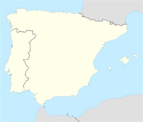 map of spain and portugal file portugal spain location map jpg