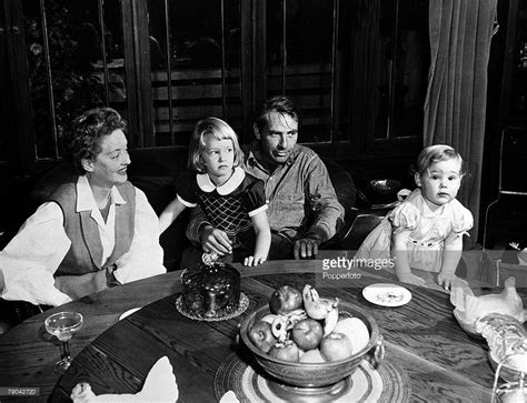 bette davis daughter margot merrill is pictured with her fourth husband actor gary merrill and