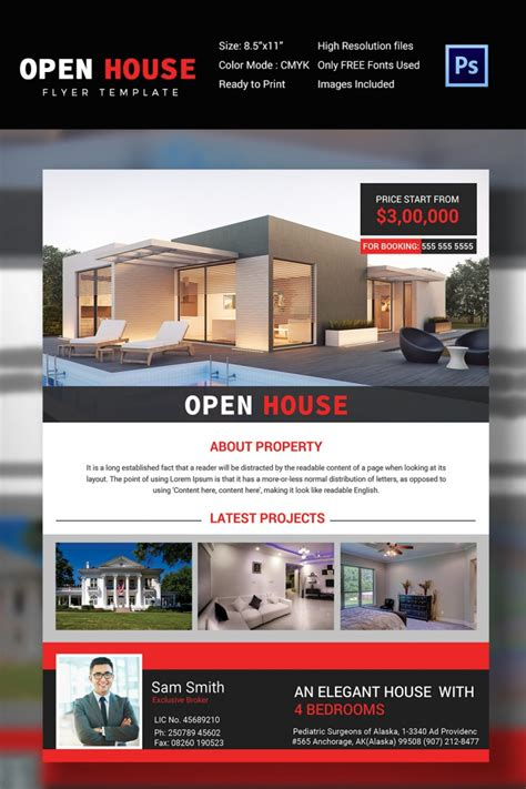 real estate open house flyer 27 open house flyer templates printable psd ai vector eps design trends