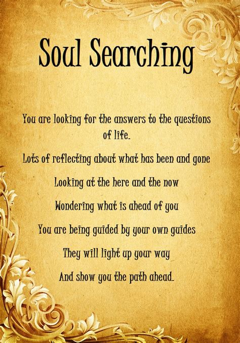 quotes about soul searching quotesgram