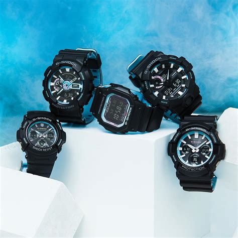 Casio G Shock Ga 700pc 1a g shock neon accent color series with dual layer band