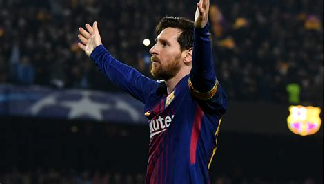 barcelona striker lionel messi hasn t yet signed contract unstoppable messi will fire barcelona to chions league