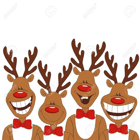 images of christmas reindeer funny christmas reindeer clipart clipground