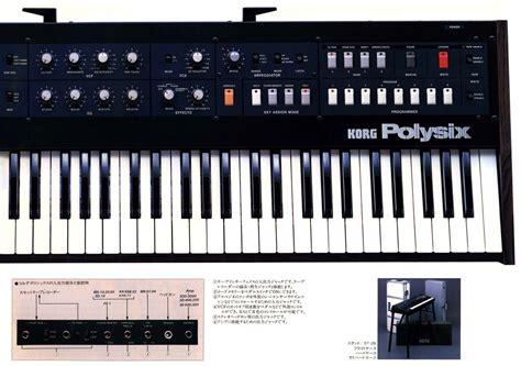 Keyboard Korg All Type korg polysix junglekey fr image