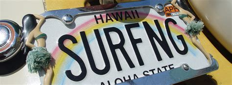 Surfing License Plate Facebook Cover Unique Girly Backgrounds