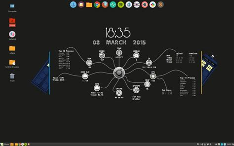 conky manager themes kali linux how to install conky and the conky theme aurora erik dubois