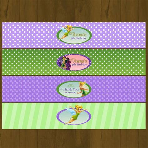 free printable tinkerbell party decorations tinkerbell printable water bottle labels tinkerberll