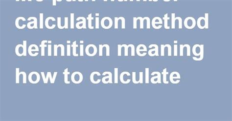 How To Calculate Numerology Number Path Number Calculation Method Definition Meaning How To Calculate Knowledge