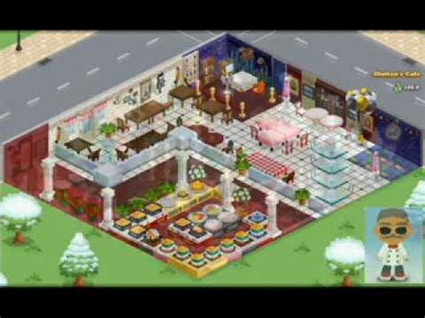 cafe world layout best cafe world designs youtube