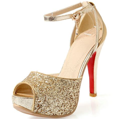 Gold Heels For Wedding by Gold High Heels For Wedding 28 Images Gold Lace High