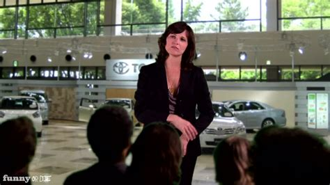 Toyota Commercial Spokeswoman Toyota Spokesperson Don T Panic From Or Die