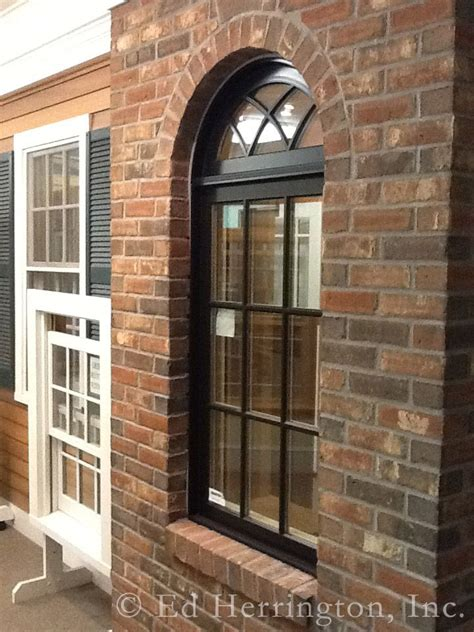 marvin ultimate ebony clad casement window  gothic