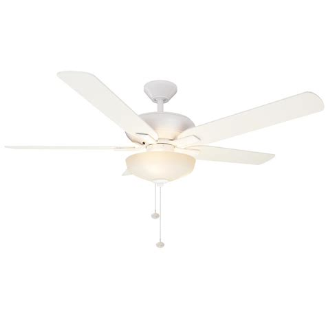hunter duncan 52 ceiling fan hunter duncan 52 in led indoor fresh white ceiling fan