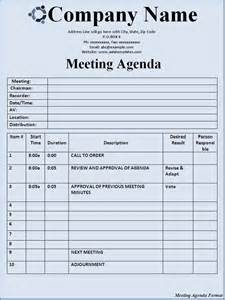 meeting format template 15 meeting agenda templates excel pdf formats