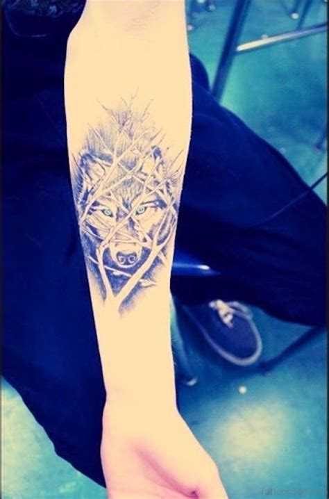 wolf tattoo forearm 50 exclusive wolf tattoos for arm
