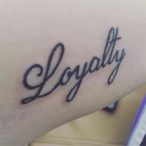 loyalty tattoo designs 55 best loyalty designs meanings courage honor