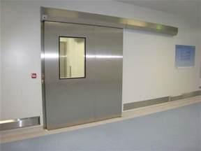 cleanroom sliding doors moduclean