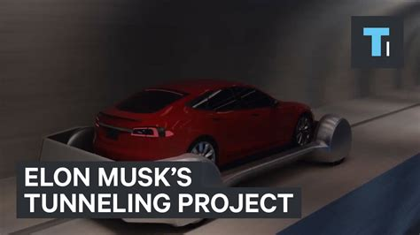 Ej Knapp Can Keep His Car by Elon Musk Reveals Details Of His Tunneling Project With