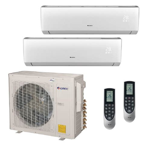 Ac Lg Multi Split gree multi 21 zone 30 000 btu 2 5 ton ductless mini split