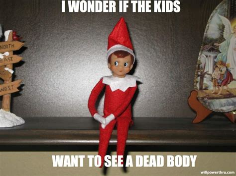 Elf On The Shelf Meme - elf on the shelf memes top 12 funniest pictures heavy