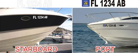 placement of florida boat registration numbers boat name ideas boat name design install ta