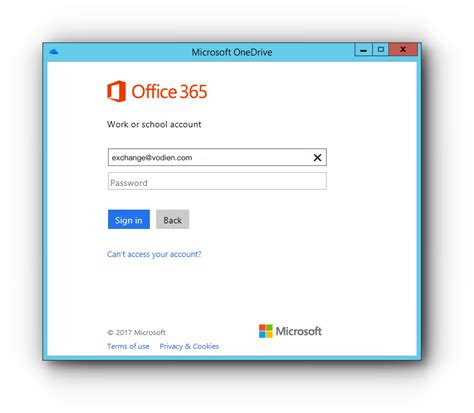 Office 365 Sign On by How To Set Up Microsoft Onedrive Knowledge Base