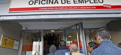 oficina desempleo madrid madrid contratar 225 desempleados de las oficinas de empleo