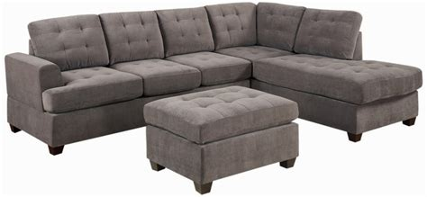 Sofa Delightful Microfiber Chaise Sofa Cindy Crawford Microfiber Sofa With Chaise Lounge