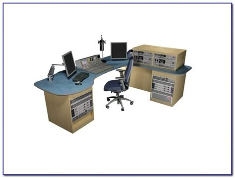 L Shaped Studio Desk Omnirax Presto 4 Studio Desk Black Desk Home Design Ideas Yaqooqaqoj84390