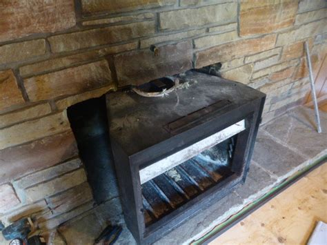 Remove Fireplace Insert by Converting A Masonry Fireplace To A Masonry Heater