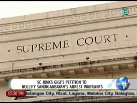 Sc Arrest Warrant Search Newslife Sc Junks Gigi S Petition To Nullify