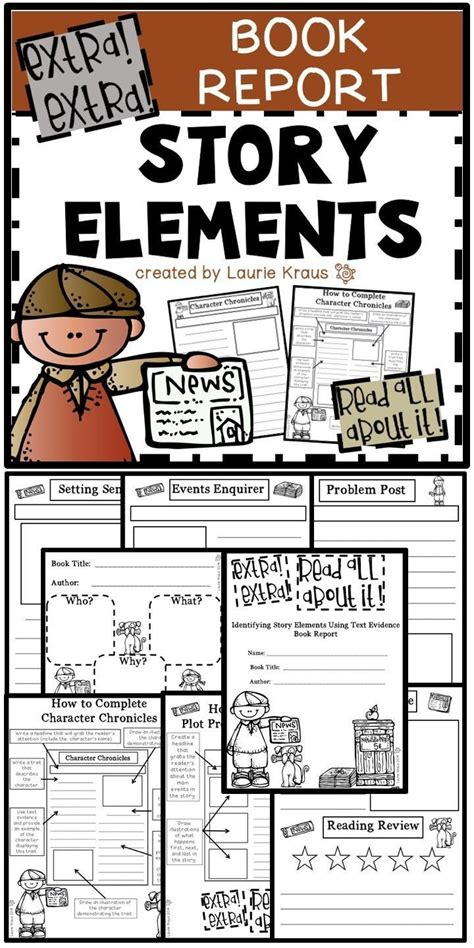 theme book report 17 best ideas about story elements on story