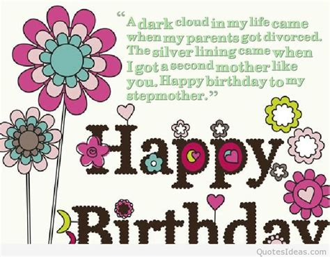 Happy Birthday Quotes To My Step Happy Birthday To My Mother Messages Quotes