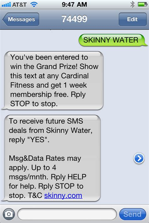 text to win good for growing sms subscribers tatango