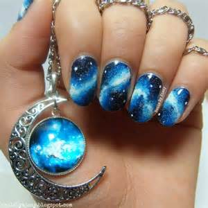 awesome galaxy nails art designs pictures to pin on pinterest